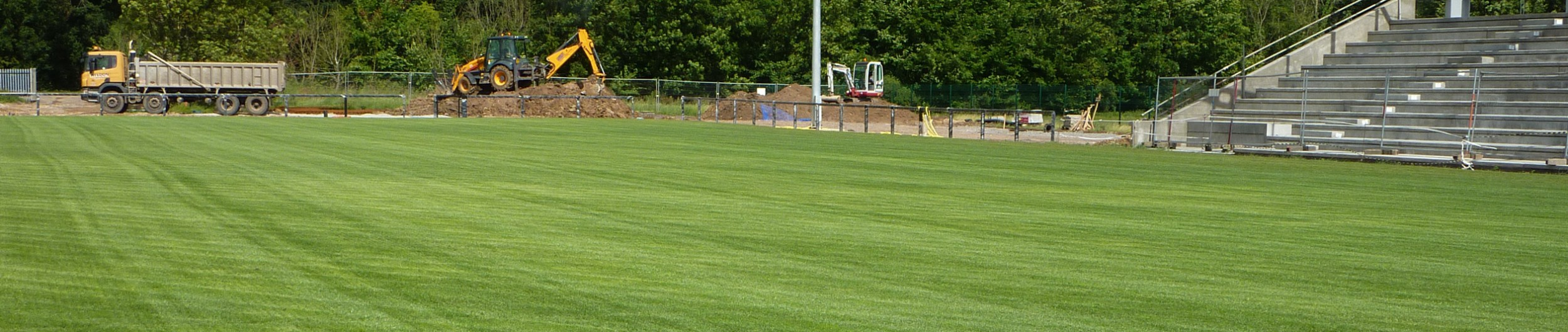 Construction and maintenance of Cricket Pitch.